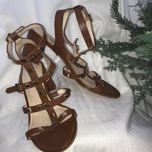 Karl Lagerfeld sandals with heel
